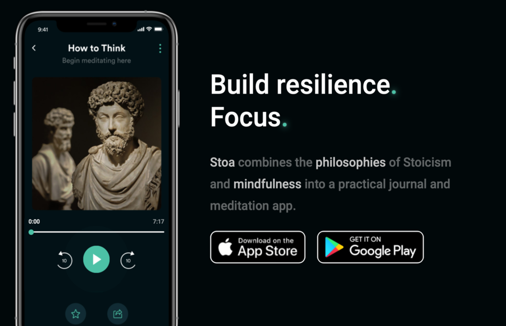 Deepening My Understanding Of Stoicism With The Stoa App